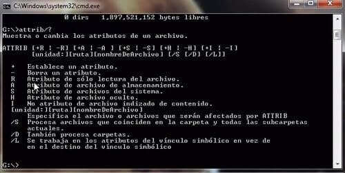 Cómo eliminar virus usando Attrib
