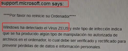 virus zeus como eliminar