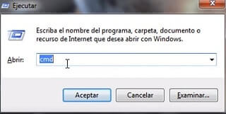 consola de windows