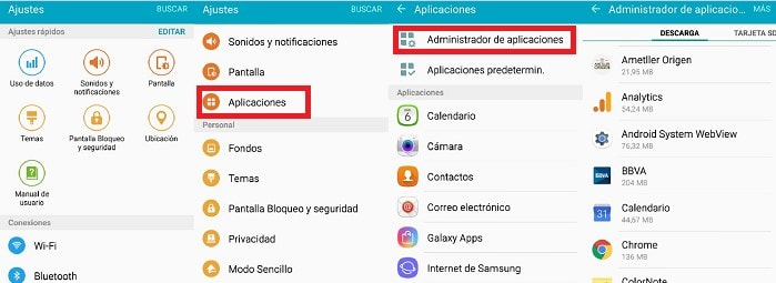 eliminar virus app android