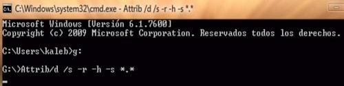 eliminar malware cmd