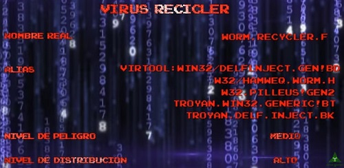 que es virus recycler