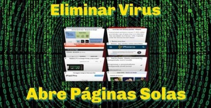 virus abre páginas solas
