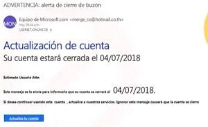 eliminar email spam