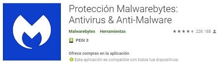 protección malwarebytes