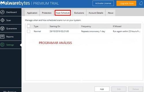 Malwarebytes análisis
