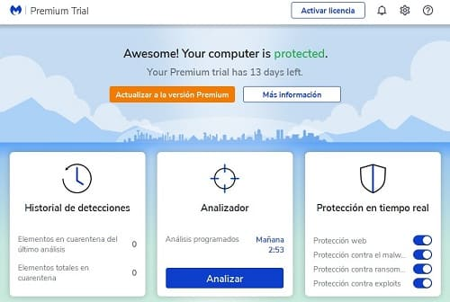 Malwarebytes cómo usar el antivirus