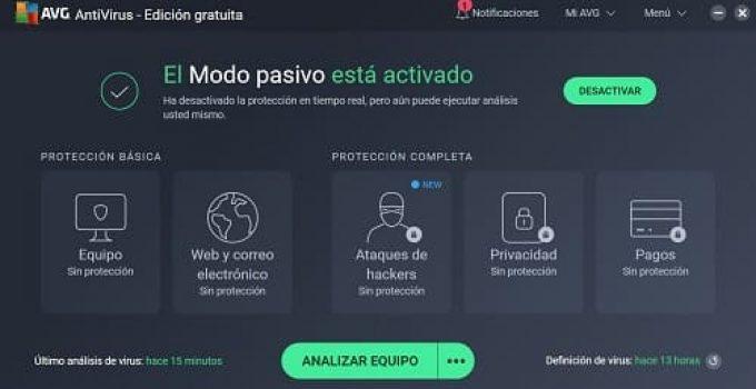 AVG Antivirus PC