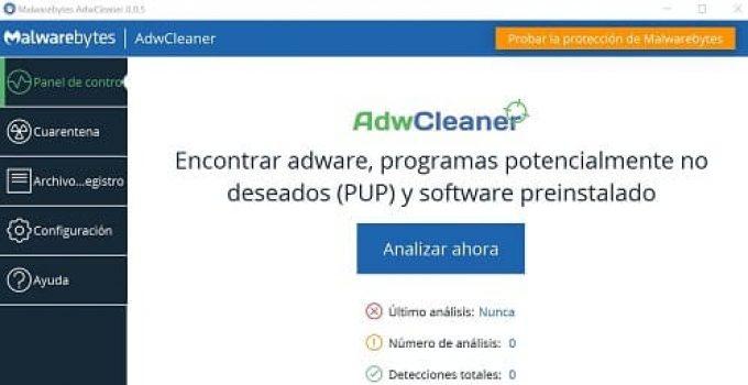 Cómo instalar AdwCleaner