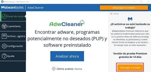 AdwCleaner antimalware