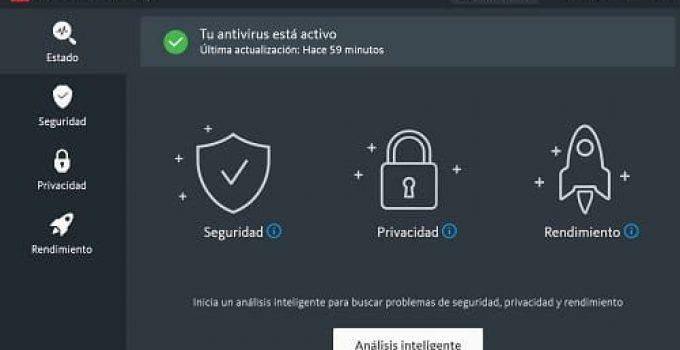 Avira antivirus análisis
