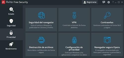 Avira antivirus VPN