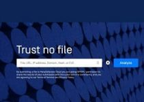 Metadefender analizar archivos