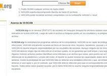 VirSCAN antivirus online
