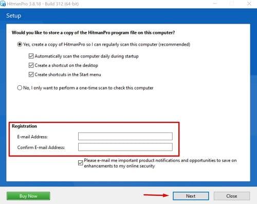 HitmanPro ransomware