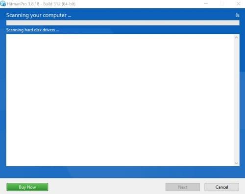 HitmanPro cómo eliminar el virus