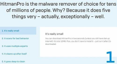 HitmanPro borrar virus