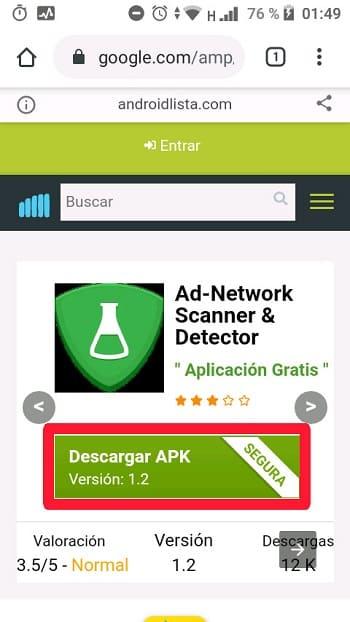 Ad-Network Scanner & Detector cómo funciona