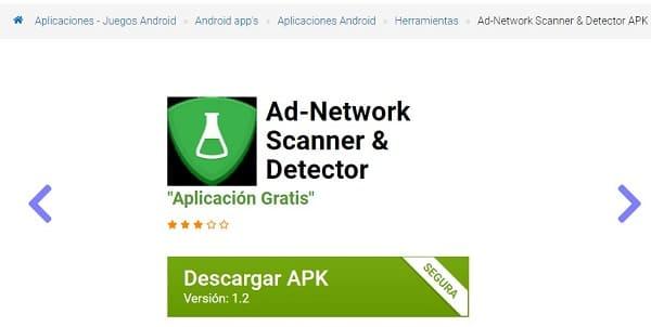 Ad-Network Scanner & Detector descargar APK
