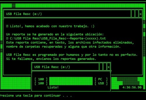 USB File Resc virus PC