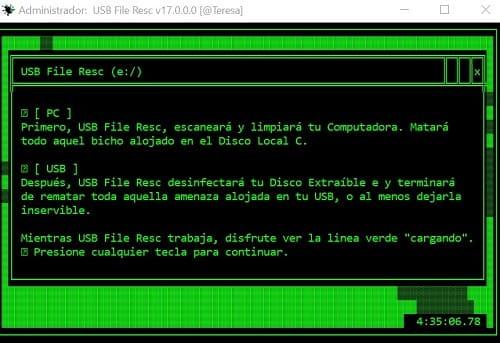 USB File Resc PC