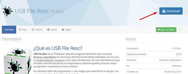 USB File Resc ordenador