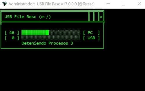 USB File Resc análisis completo