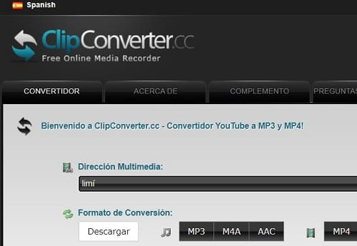 Clipconverter conversor de vídeos virus
